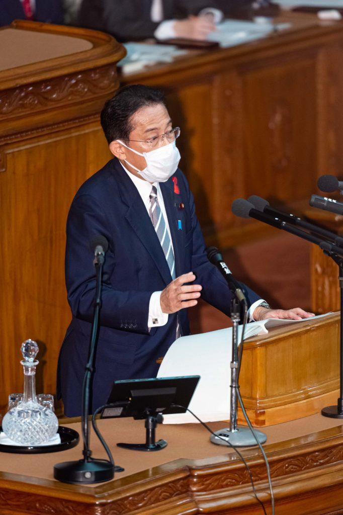 第二百五回国会における岸田内閣総理大臣所信表明演説